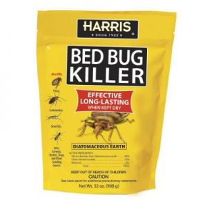 get rid of bedbugs with Diatomaceous Earth