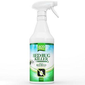 Eco Defense Bed Bug Killer Spray - Non-toxic ingredients