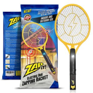Rechargeable Bug Zap for mosquitoes and flying insects