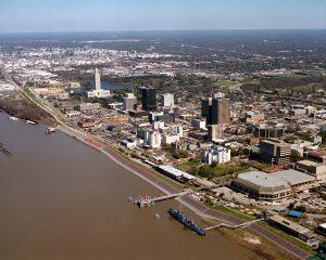 Baton_Rouge_Louisiana_waterfront_aerial_view
