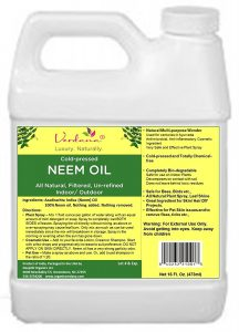 Cold Pressed Neem Oil - Indoor and Outdoor Use